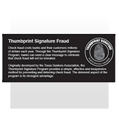 Thumbprint Signature