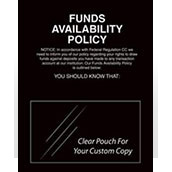 Funds Availability Policy