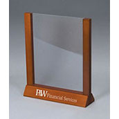Wood Countertop Sign Holder - 8.5w x 11h